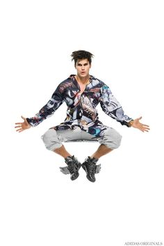 Adidas Originals by Jeremy Scott Delivers Zany Fun for Fall/Winter 2014 Collection image Adidas Originals Fall Winter 2014 Collection Men Jeremy Scott 007