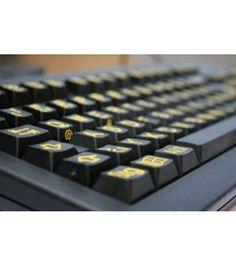 Grootletter toetsenbord nodig? Multimedia toetsenbord van VIG.