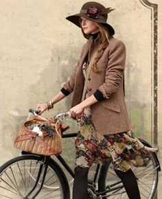 Wardrobe for when I happen to be biking through the French countryside...