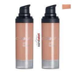 LR Colours Oilfree Make-up Medium Caramel 2 x 30 ml - Doppelset!