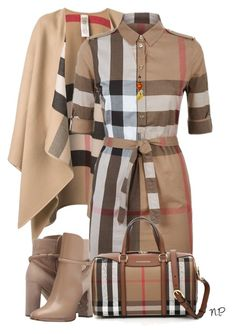 Burberry by nuria-pellisa-salvado on Polyvore featuring moda and Burberry