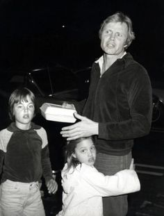 Jon Voight with James and Angelina