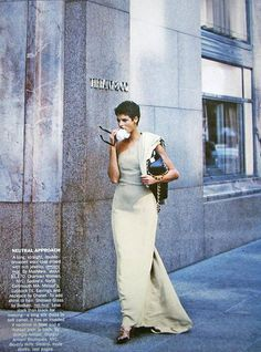 Vogue US - Camel's back - Linda Evangelista - Sep 1989 Photos PETER LINDBERGH
