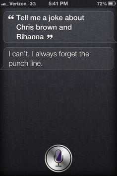 Haha! Siri has a sense of humor!