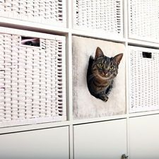 Trixie Kuschelhöhle für Regale lichtgrau 37x33x33 cm Katzenhöhle Katzenmöbel