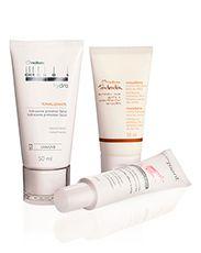 Presente Natura Essenciais de Inverno - Creme Hidratante para Mãos + Selador de pontas + Hidratante Protetor Facial + Embalagem Desmontada