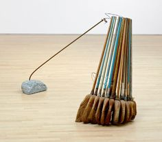SFMOMA | Explore Modern Art | Our Collection | David Ireland | Broom Collection with Boom
