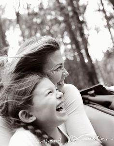 Mother & daughter fun.