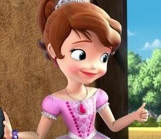 Sofia The First Cartoon, Sofia The First Characters, Princess Sofia The First, Mickey Mouse Parties, Mickey Mouse Birthday, Princess Birthday, Minnie Mouse, Tangled Party, Tinkerbell Party