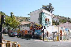Even the graffiti in Granada is beautiful.