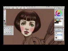 Digital Art Tutorial - Blending in Corel Painter