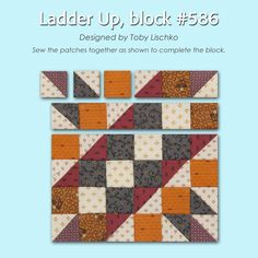 100 Blocks Sampler Sew Along   Block 5