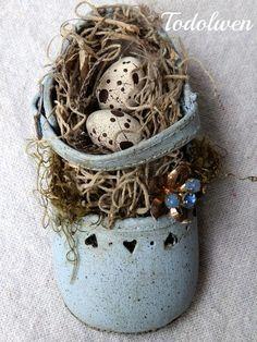 Shabby chic: Shabby Easter
