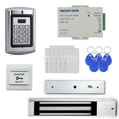 (105.19$)  Buy here - http://aizyi.worlditems.win/all/product.php?id=2045300352 - DIYSECUR 280KG Magnetic Lock 125KHz RFID Reader Password Metal Keypad Access Control System Security Kit BC2000
