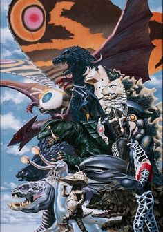 Kaiju All-Stars