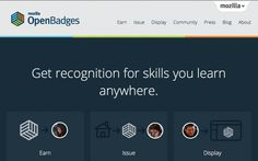 Mozilla Open Badges Blog — Introducing Open Badges 1.0. Today we're extremely proud to release Mozilla Open Badges 1.0, an exciting new online standard to recognize and verify learning. Open Badges makes it easy to…  earn badges for skills you learn online and offline give recognition for things you teach show your badges in the places that matter.