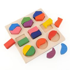 Sincere Montessori Toys Educational Wooden Toys For Children Early Learning Exercise Kids Brain Intelligence 3d Cartoon Match Teaching Choice Materials Home