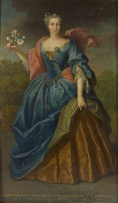 Marie-Geneviève Le Tonnelier de Breteuil, Marquise de Chiffreville.