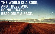 So, let's travel!!
