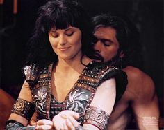 <3 xena & ares  Dear Lord, nosebleed when I ever get to this. . . That or some AMAZING photoshopping!! >w