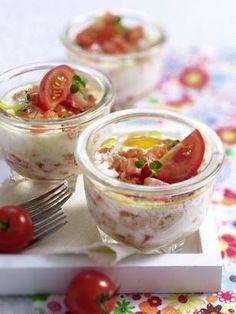 Das Rezept für Eiertöpfchen mit Tomaten und weitere kostenlose Rezepte auf LECKER.de