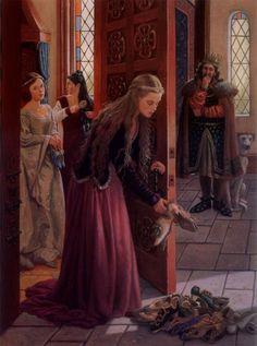 The Twelve Dancing Princesses by Ruth Sanderson