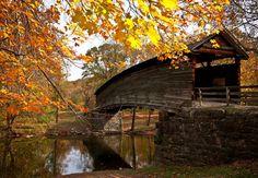 Humpback Bridge, Virginia. Sanctuary!