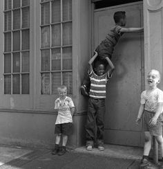 Kids Playing, Williamsburg, archival digital prints from...