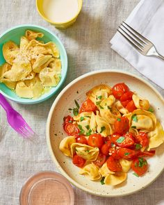 Recipe: Tortellini with Butter-Roasted Cherry Tomato Sauce — Recipes from The Kitchn