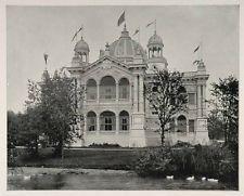 1893 Chicago World's Fair Brazilian Building Brazil