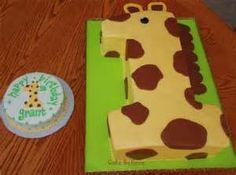 Giraffe 1 cake