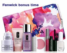 Visit Fenwick from 21 Jan 2016 and purchase 2 or more Clinique products to get this 9-pc gift. http://clinique-bonus.com/united-kingdom/