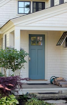 Side Entry Ideas Love The Door And Color Would Make A Great To