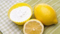 Ecco cosa succede mischiando bicarbonato e limone