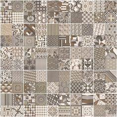 mosa que style imitation de ciment grise taille 8x8 cm sur