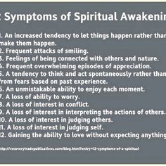 Signs of Spiritual Awakening: I love this! So true!