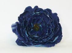 POPPET 72 Blue Denim Flower