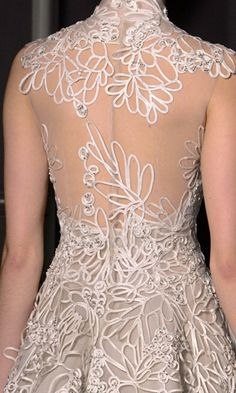 COUTURE DRESS BACK