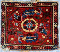 19th Century Karakalpak Bag 43x37 cm