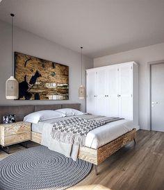 Projekt domu Murator C365j Przejrzysty - wariant X 104,5 m2 - koszt budowy - EXTRADOM My House Plans, Bed, Furniture, Cabin Ideas, Home Decor, House, Projects, Decoration Home, Stream Bed
