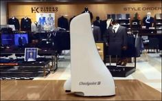 Japanese Retailer Aeon Tries Out Checkpoint's RFID-enabled Robot - RFID Journal