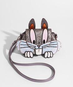 Looney Tunes x Danielle Nicole Gossamer & Bugs Bunny Bag Unique Purses, Cute Purses, Purses And Bags, Bugs Bunny, Aesthetic Bags, Disney Purse, Bunny Bags, Novelty Bags, Custom Bags