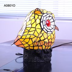 Small Tiffany Stained Glass Lamps Owl Table Lamp Night Light Novelty Animal Lamp Home Decor Lighting Kids Creative Gift Cute-in Table Lamps from Lights & Lighting on Aliexpress.com   Alibaba Group