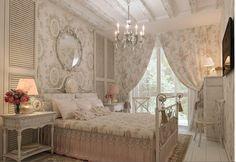 Beautiful shabby bedroom