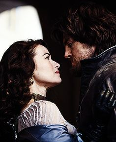 Milady & Athos (view of upper right side of outfit) Bbc Musketeers, The Three Musketeers, Milady De Winter, Tragic Hero, Terry Goodkind, Even When It Hurts, Bbc Three, Mork & Mindy, Keeping Up Appearances