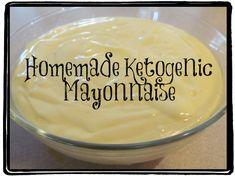 homemade ketogenic mayonnaise