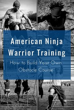 American Ninja Warrior Training: How to Build Your Own Obstacle Course  #AmericanNinjaWarrior #ANW #NinjaWarrior Backyard Obstacle Course, Kids Obstacle Course, Obstacle Course Training, Backyard Gym, Kids American Ninja Warrior, American Ninja Warrior Obstacles, Outdoor Workouts, Outdoor Gym, Outdoor Fitness