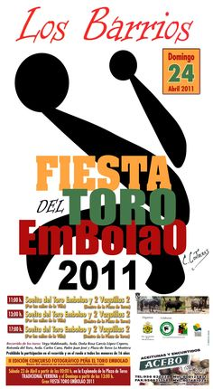 CARTEL TORO EMBOLAO 2011 LOS BARRIOS