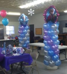 Balloon columns and arches