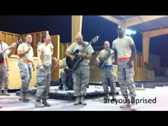"""U.S. Air Force Sidewinder perform a cover of Cee Lo's """"Forget You."""" Sidewinder is part of the 571st Air Force Band, 131st Bomb Wing, Air National Guard."""